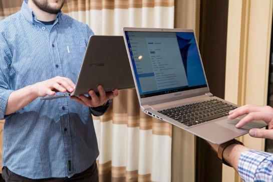 Компания Samsung изобрела ноутбук-конкурент MacBook