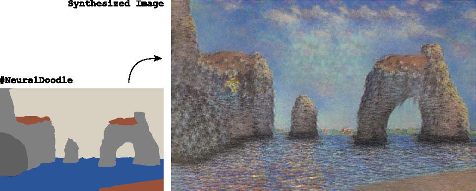 Нейросеть превращает каракули в художественные шедевры - 2