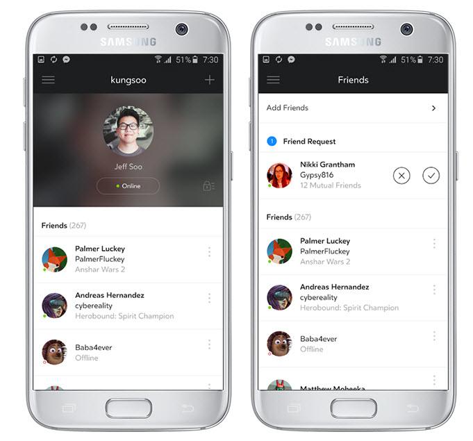 Пользователям Samsung Gear VR предложили свою социальную сеть
