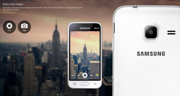 Смартфон Samsung Galaxy J1 Mini получил четырёхъядерную SoC