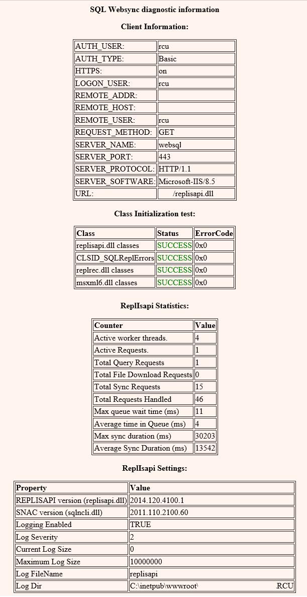 Веб-синхронизация слиянием на MS SQL - 12