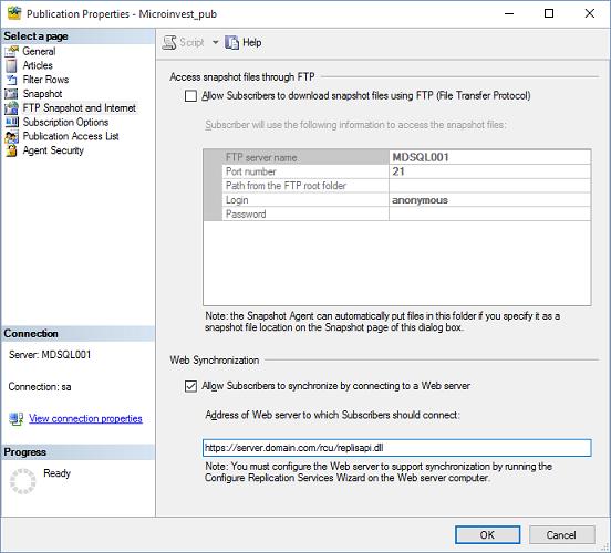 Веб-синхронизация слиянием на MS SQL - 26