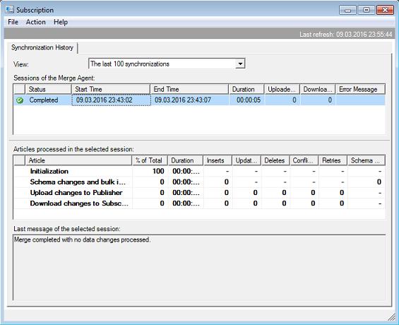 Веб-синхронизация слиянием на MS SQL - 30
