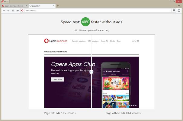 Вышел браузер Opera со встроенным блокировщиком рекламы - 3