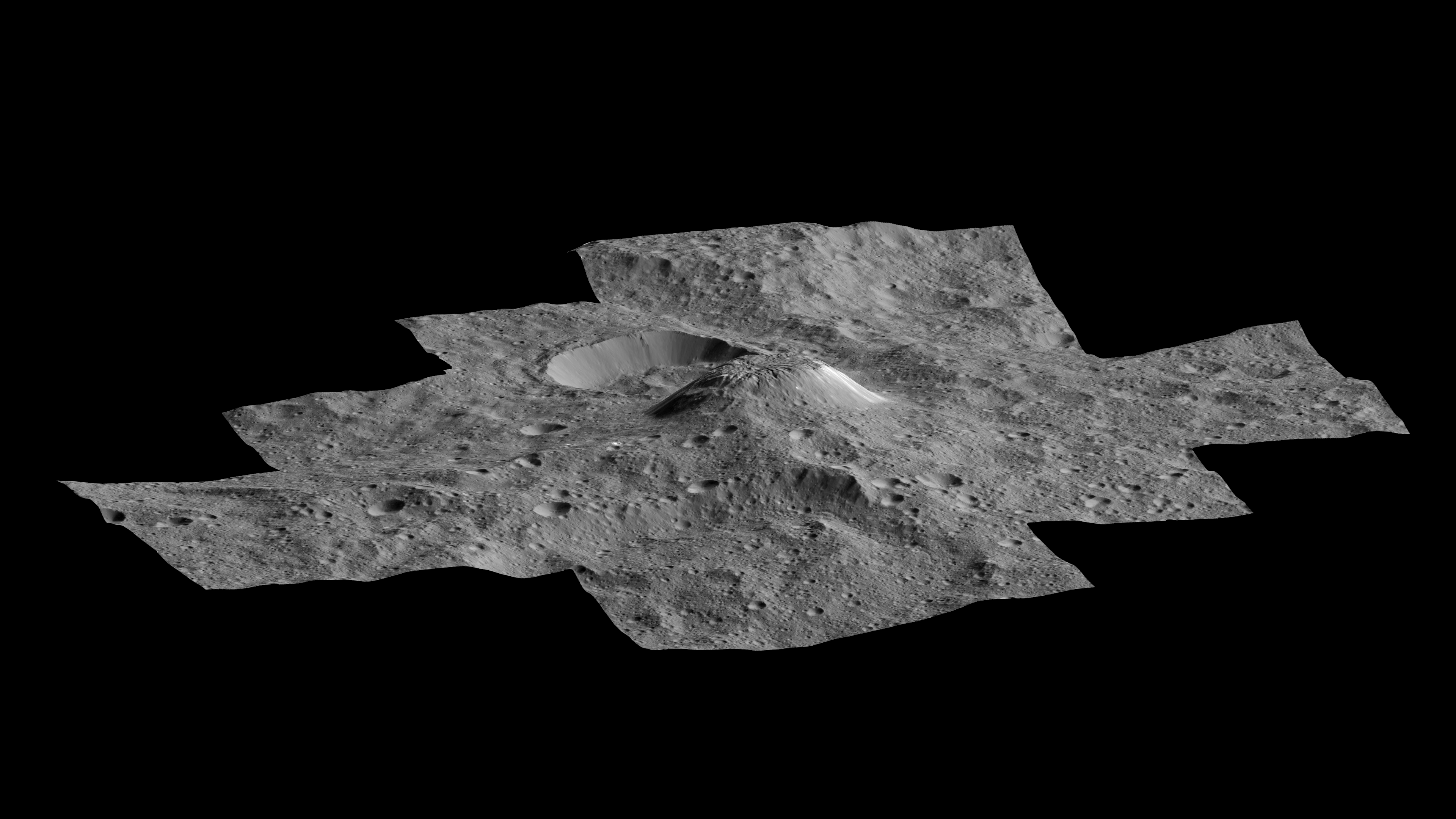 Зонд Dawn изучает Цереру уже год: интересные открытия и новые загадки - 3