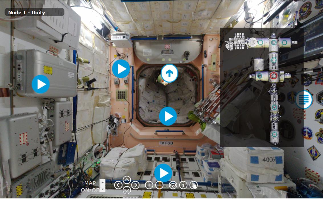 3D-панорамы МКС - 1
