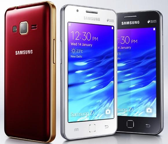 Обновленная версия бюджетного смартфона Samsung Z1 получит дисплей AMOLED