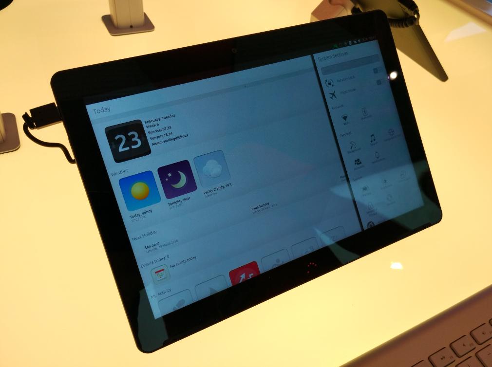 По следам #MWC16: Гаджеты Ubuntu — BQ Aquaris M10 и Meizu Pro 5 Ubuntu Edition - 2