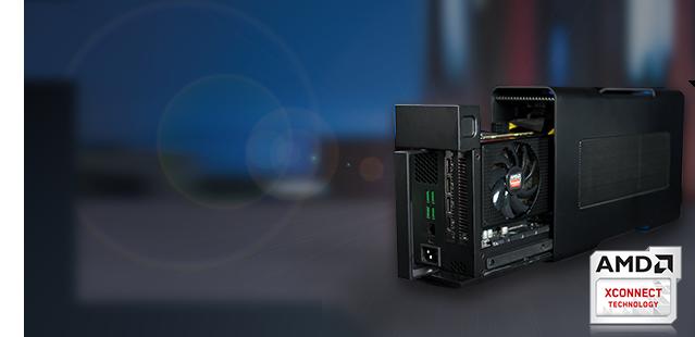 AMD XConnect может вернуть на рынок внешние видеокарты для ноутбуков