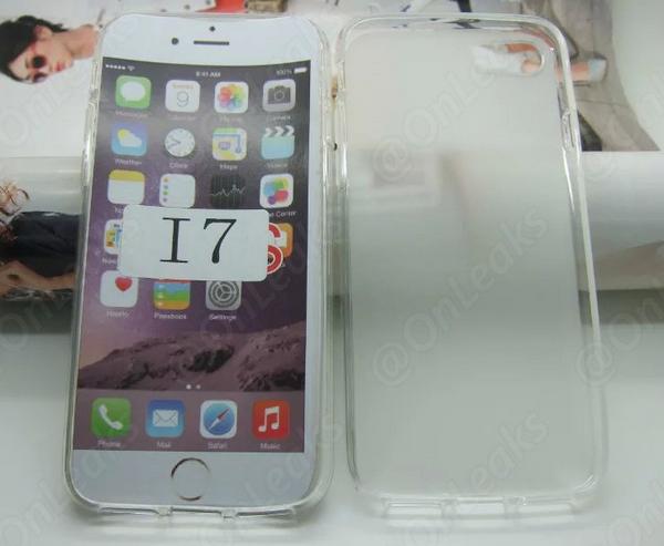 Чехол для iPhone 7 указывает на двойную камеру