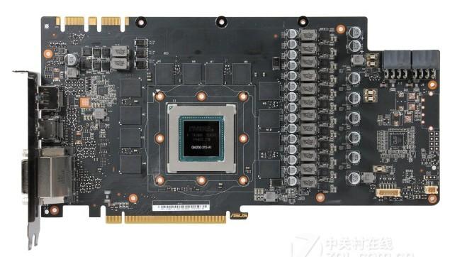 3D-карта Asus STRIX-980TI-P-GAMING-ICE работает на очень высоких частотах