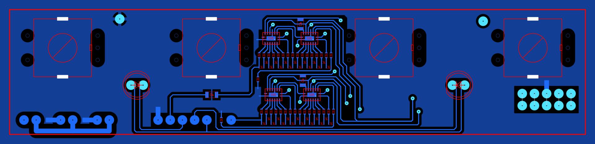 Замена аналоговой регулировки на цифровую в лабораторном блоке питания HY3005D - 7
