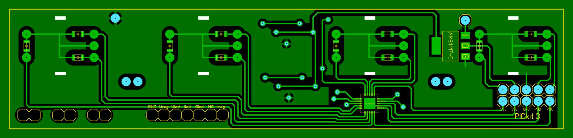 Замена аналоговой регулировки на цифровую в лабораторном блоке питания HY3005D - 8
