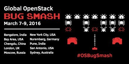 Про важность ловли блох. Для чего существует Global OpenStack Bug Smash? - 1