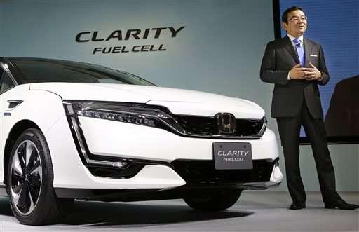 Honda выпустила собственный автомобиль на водородных топливных элементах - 1