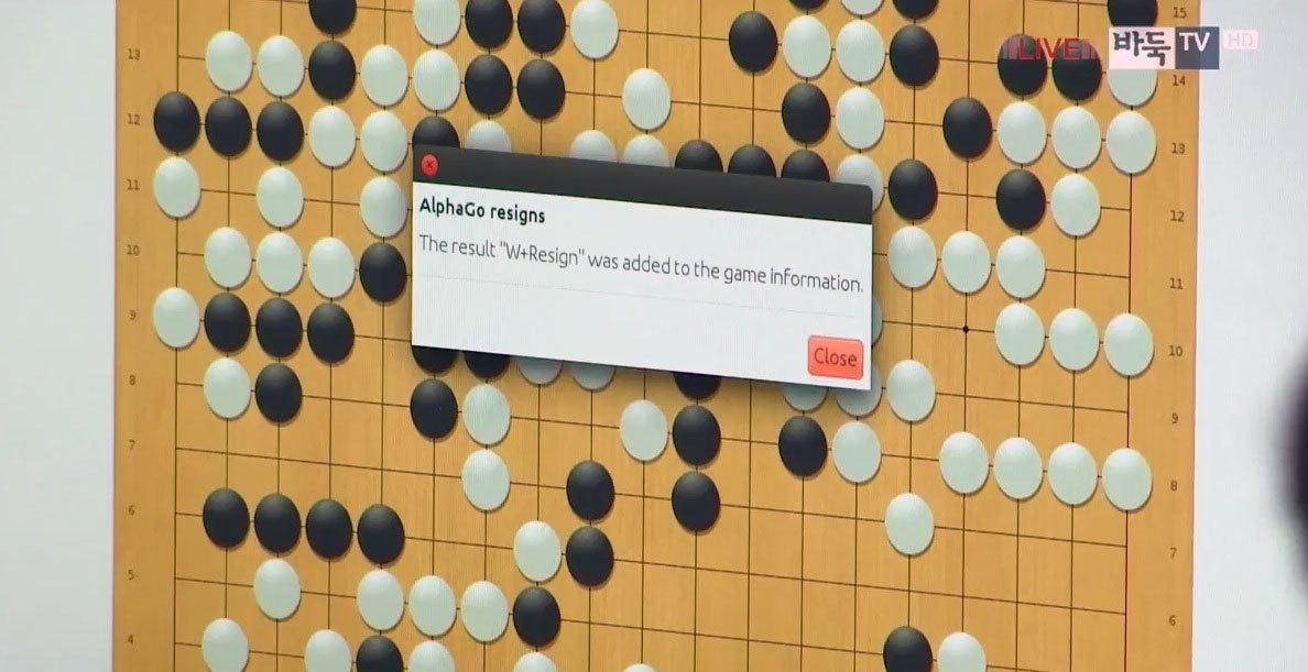 Ли Седоль выиграл четвёртую игру у системы AlphaGo - 1