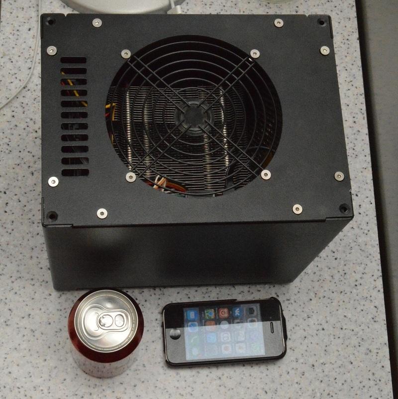 Абсолютно бесшумный, компактный безвентиляторный компьютер на полноценном десктопном процессоре. DIY реализация - 10