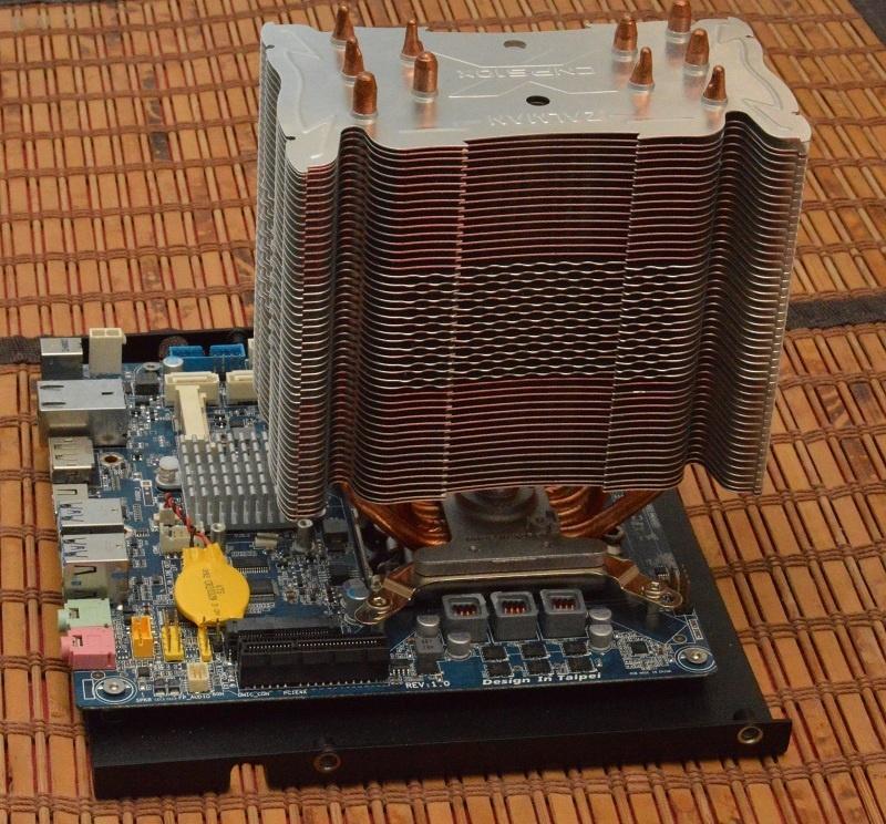 Абсолютно бесшумный, компактный безвентиляторный компьютер на полноценном десктопном процессоре. DIY реализация - 6
