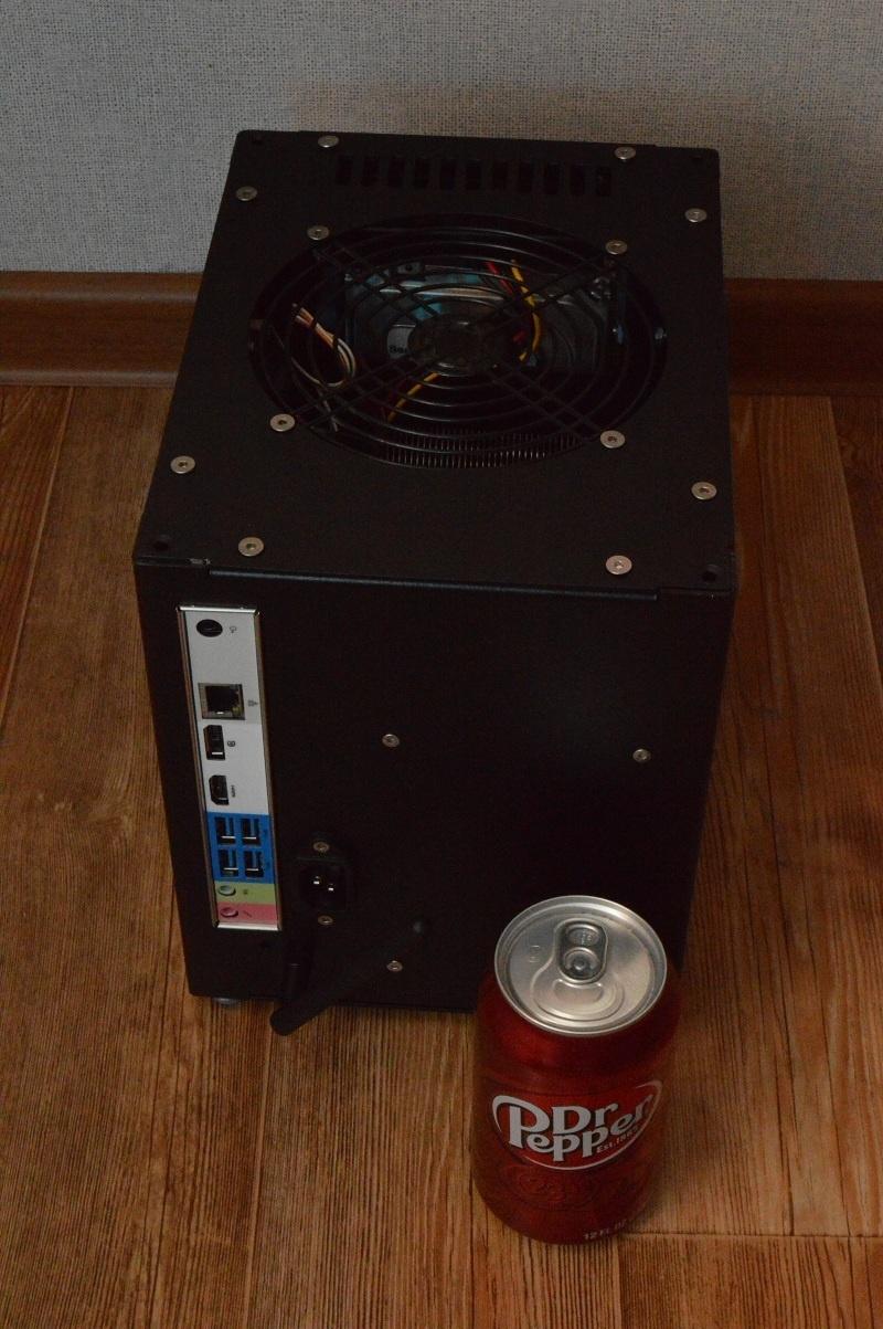 Абсолютно бесшумный, компактный безвентиляторный компьютер на полноценном десктопном процессоре. DIY реализация - 9