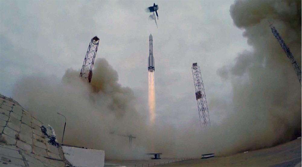 Старт ракеты «Протон-М» с космическими аппаратами программы «ЭкзоМарс-2016» прошёл успешно - 1