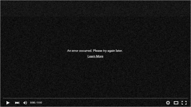 YouTube показывает пользователям Adblock Plus ошибку вместо рекламы… и самого ролика - 2