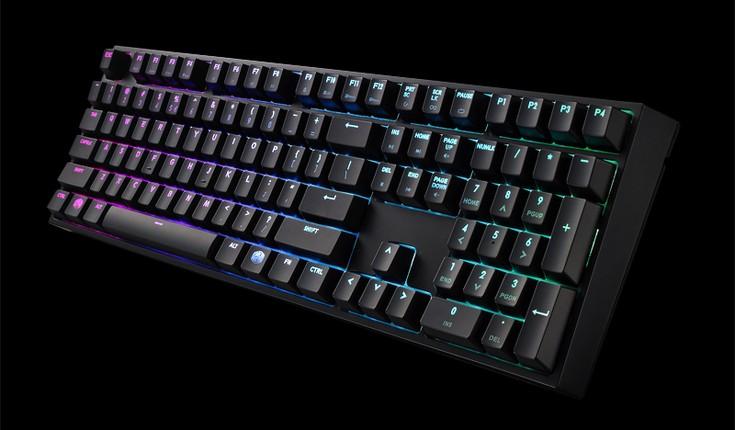 Клавиатуры Cooler Master MasterKeys Pro L и MasterKeys Pro S могут быть основаны на разных переключателях