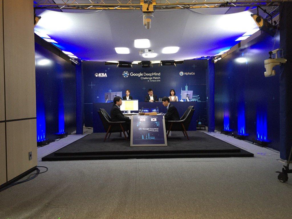 Ли Седоль проиграл AlphaGo в пятой, заключительной партии в Го - 1