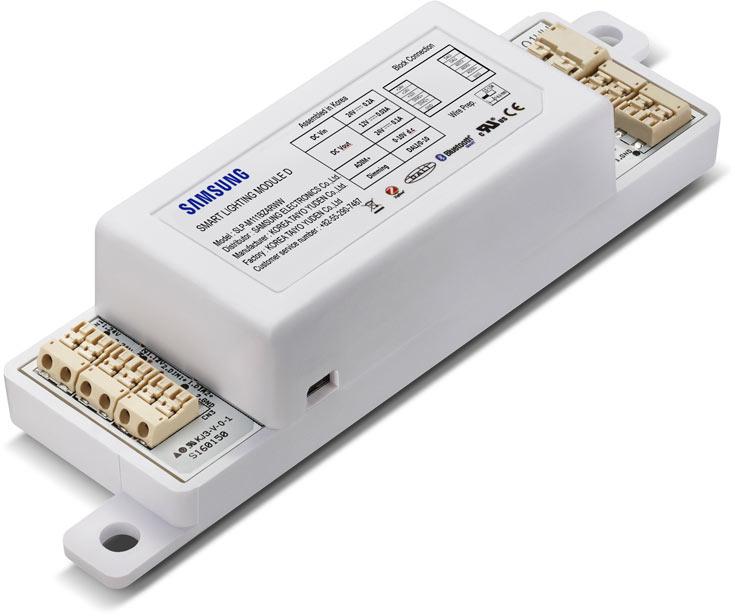 Модуль является центральным элементом фирменной платформы Samsung Smart Lighting Platform