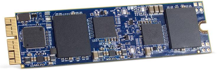 Новые SSD OWC Aura объемом 480 ГБ и 1 ТБ стоят $348 и $598 соответственно
