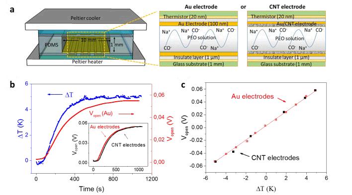 Самый эффективный термоэлектрический ионистор заряжается даже от солнечного тепла - 3