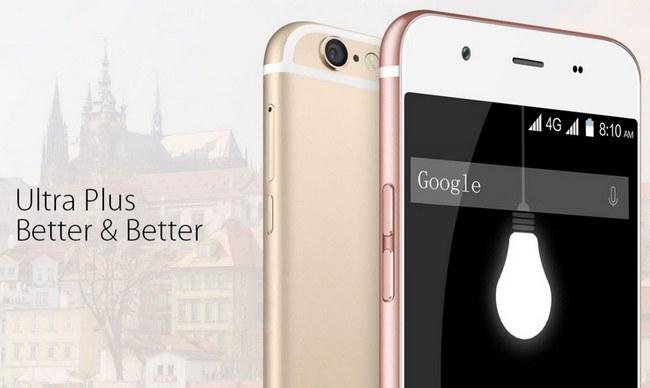 Смартфон Blackview Ultra Plus, который является клоном iPhone 6S Plus, поступает в продажу по цене $135