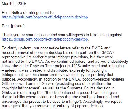 MPAA охотится за клонами Popcorn Time, даже с легальным контентом - 2