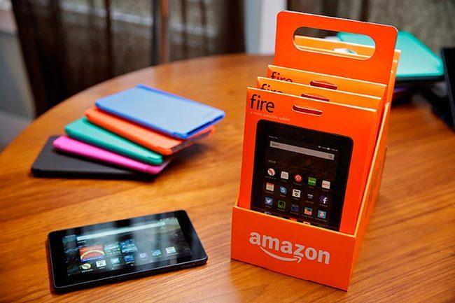 Amazon продала за прошлый квартал 5 млн планшетов