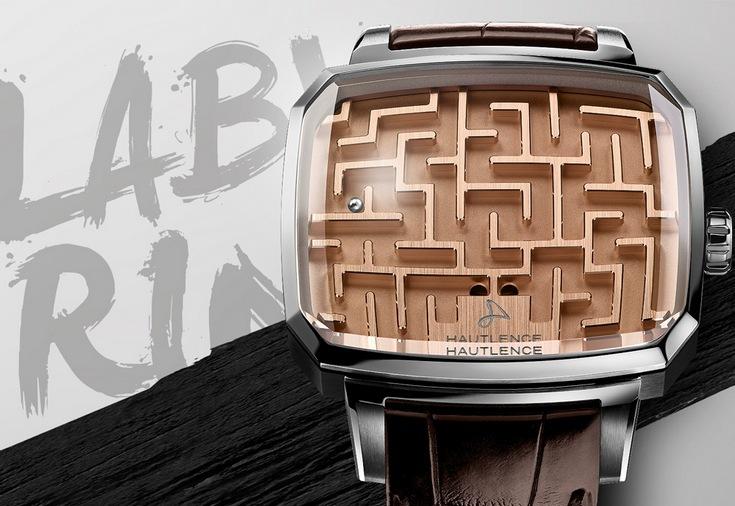 Часы Hautlence Playground Labyrinth позволяют поиграть в игру Лабиринт