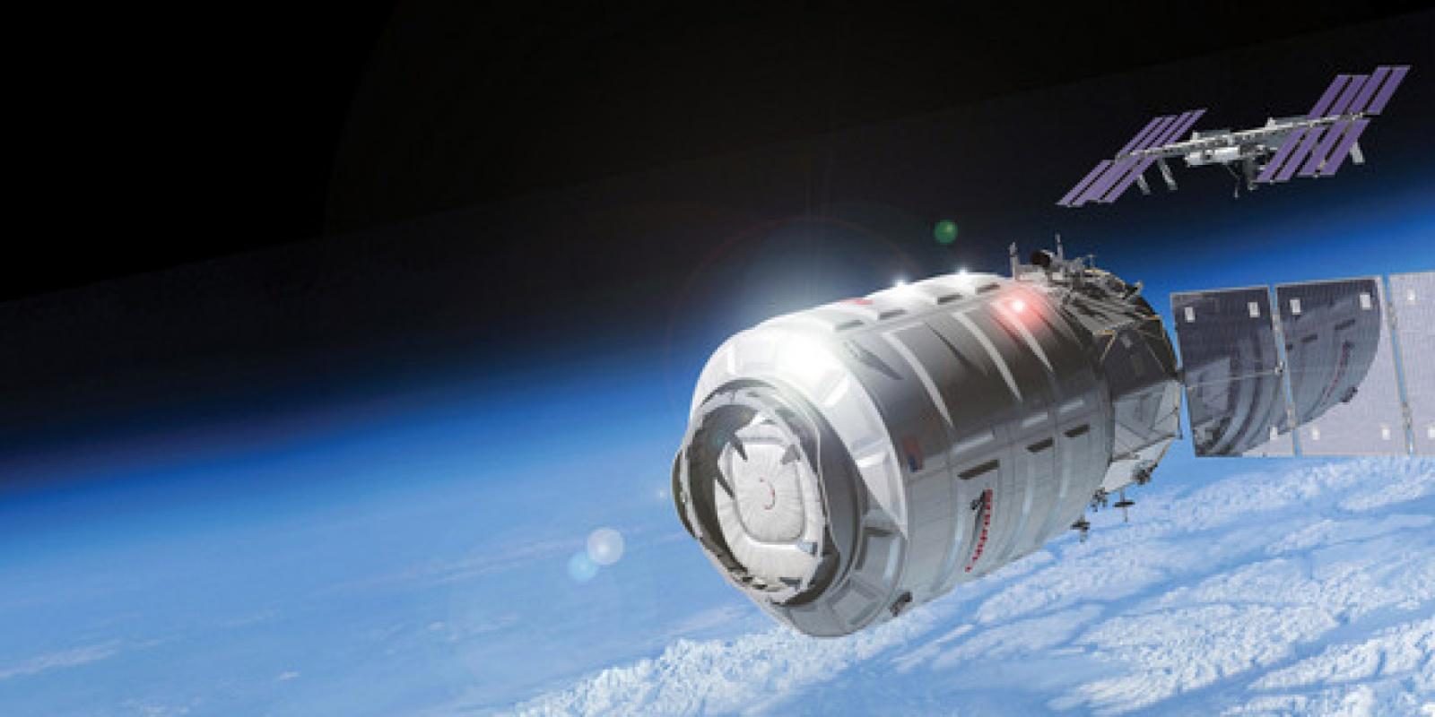NASA устроит контролируемый пожар в космосе на корабле Cygnus - 1