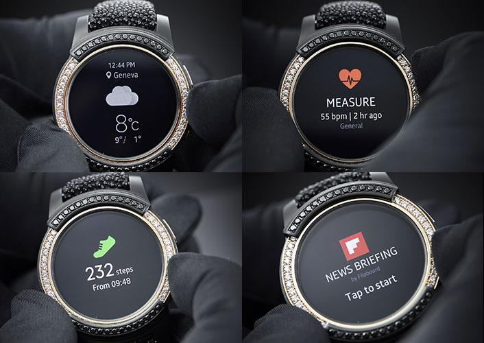 Часы Samsung Gear S2 by de Grisogono будут выпущены ограниченным тиражом