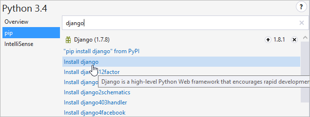 Что есть в Visual Studio 2015 для разработчика на Python - 2
