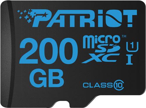 Продажи новых карточек памяти Patriot начинаются в этом месяце