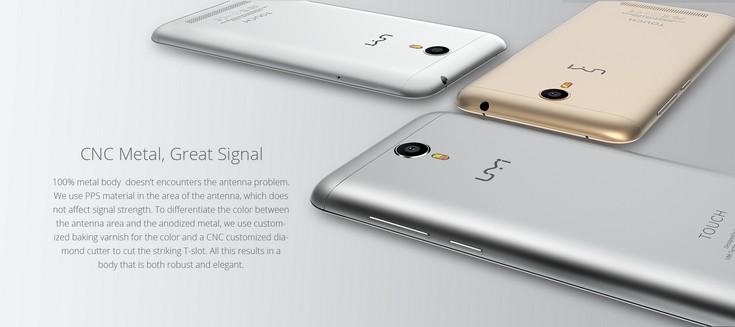 Смартфон UMi Touch сейчас стоит $150