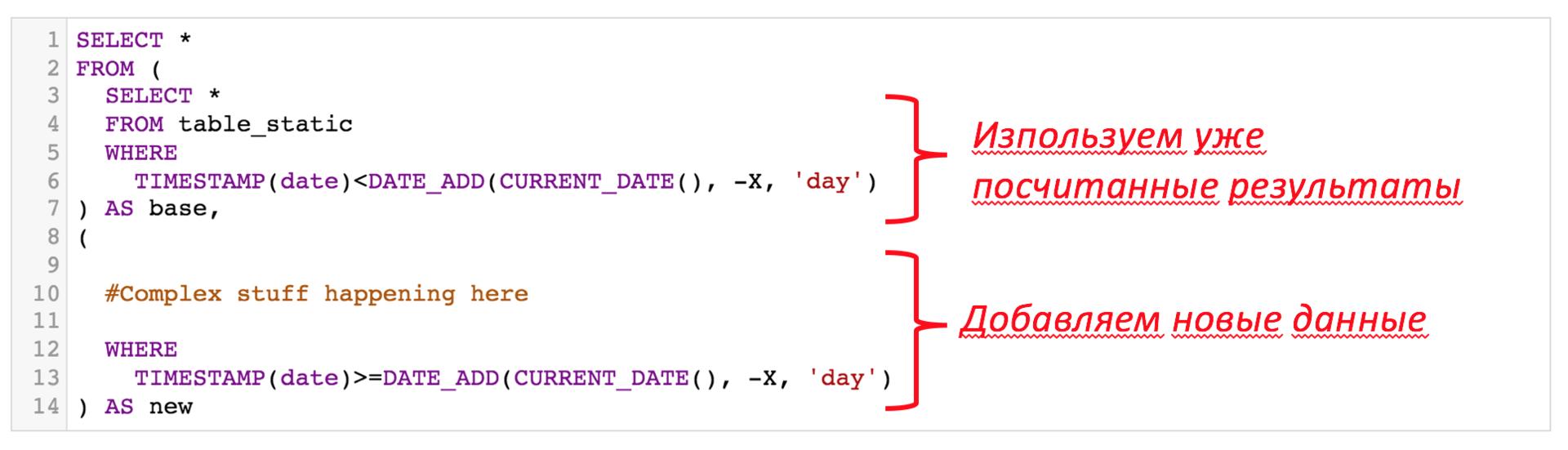Строим надёжный процессинг данных — лямбда архитектура внутри Google BigQuery - 4