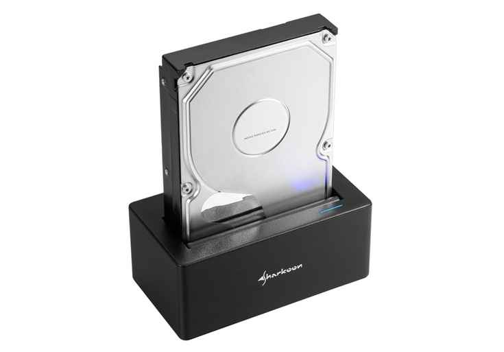 Док-станция Sharkoon SATA QuickPort USB 3.1 Type C стоит 40 евро