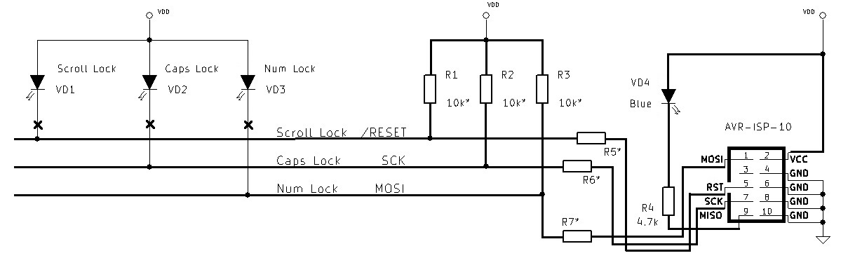 Особенности программирования микроконтроллеров посредством клавиатуры - 2