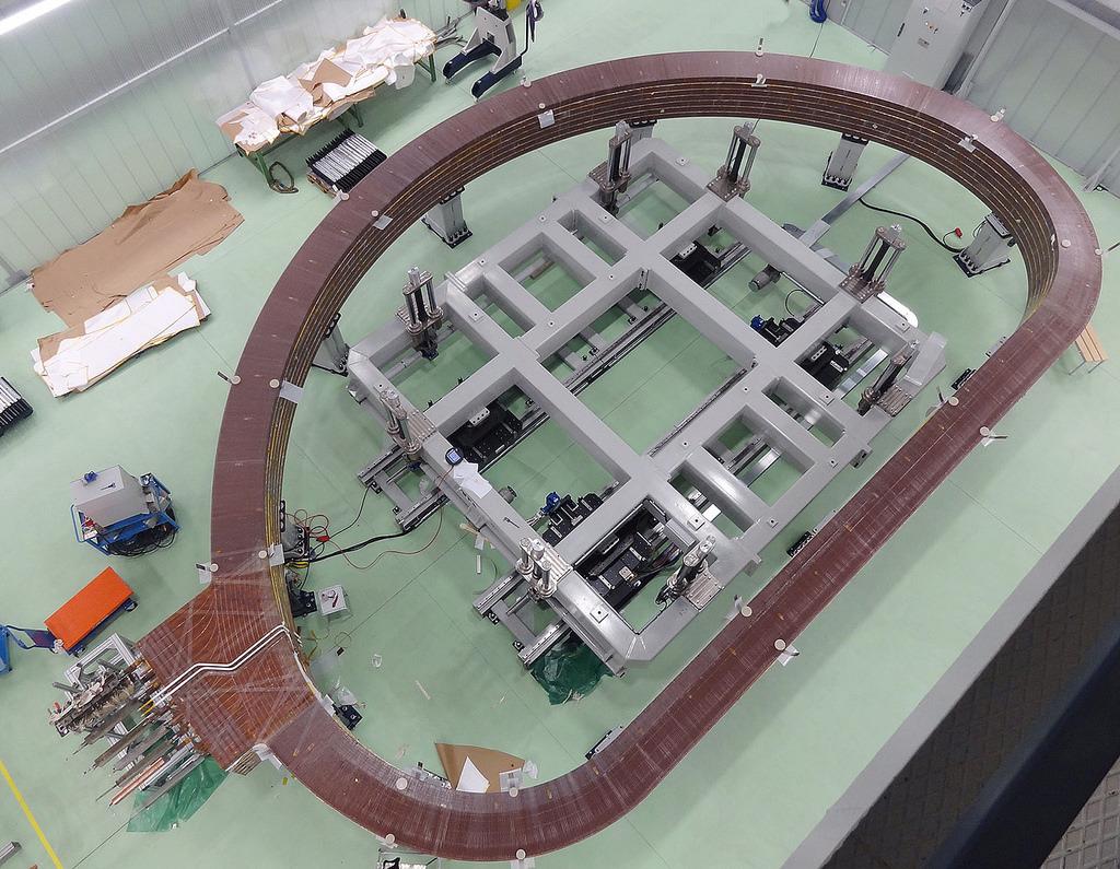 Изготовлен первый пакет обмотки для тороидальной катушки сверхпроводящего магнита ITER - 2