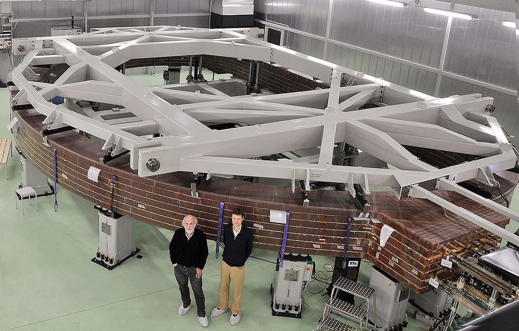 Изготовлен первый пакет обмотки для тороидальной катушки сверхпроводящего магнита ITER - 1