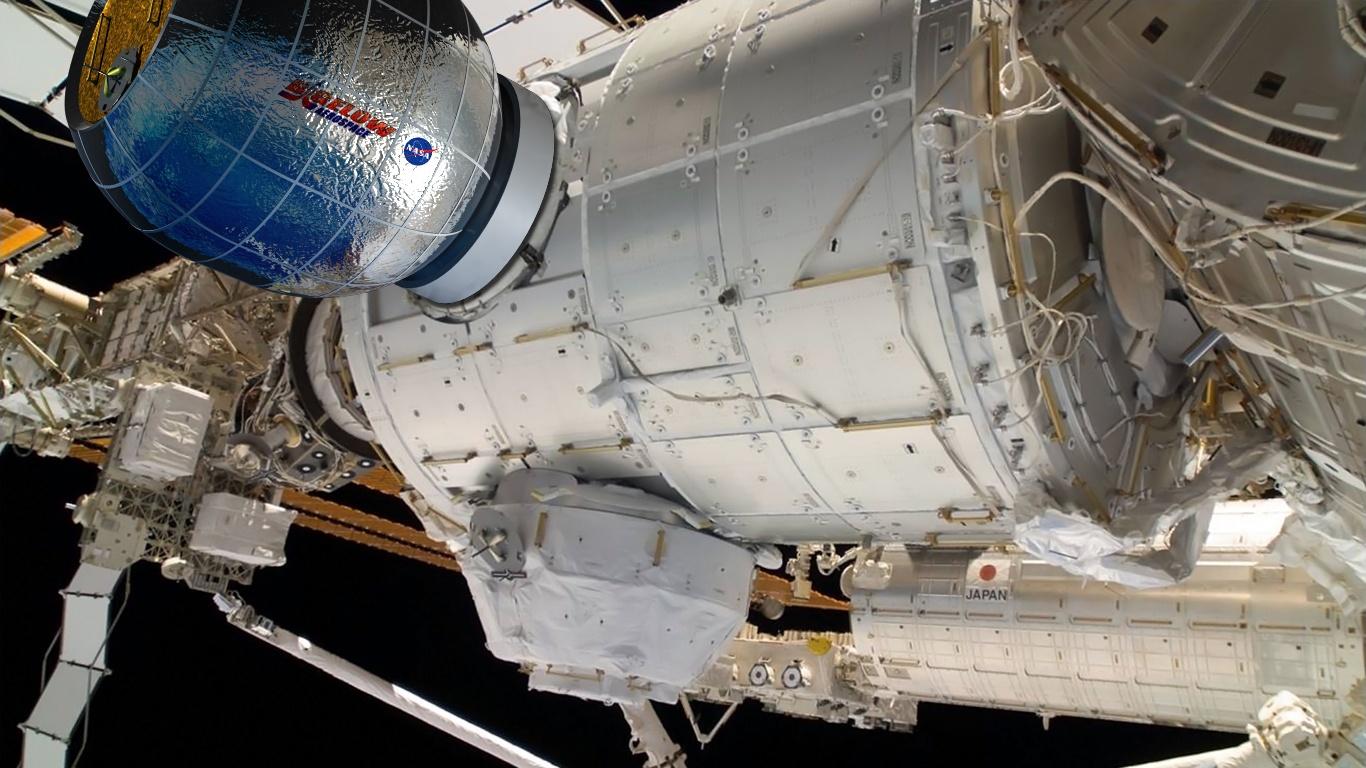 Новый экипаж-47-48 прибыл на МКС - 2