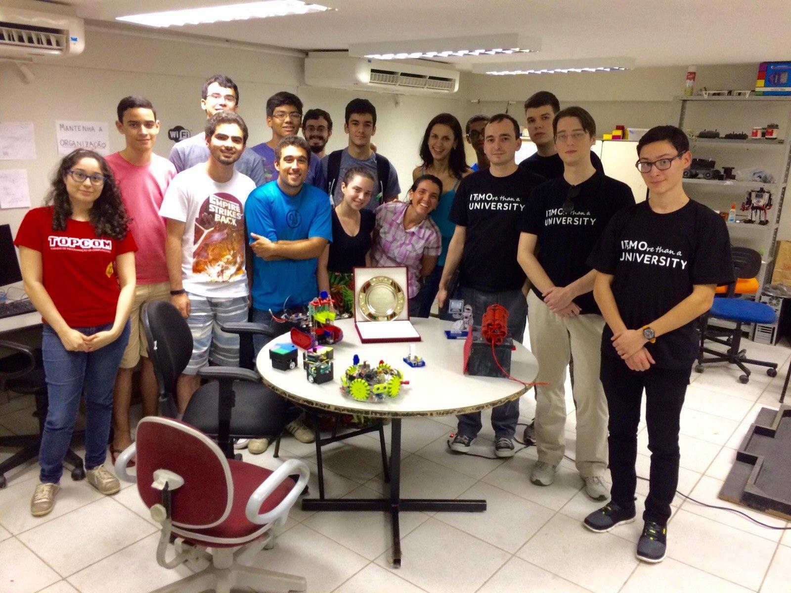 Как студенты Университета ИТМО создают роботов - 4
