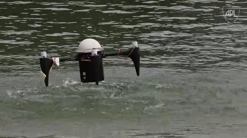 Новый беспилотник может месяцами скрываться под водой - 1