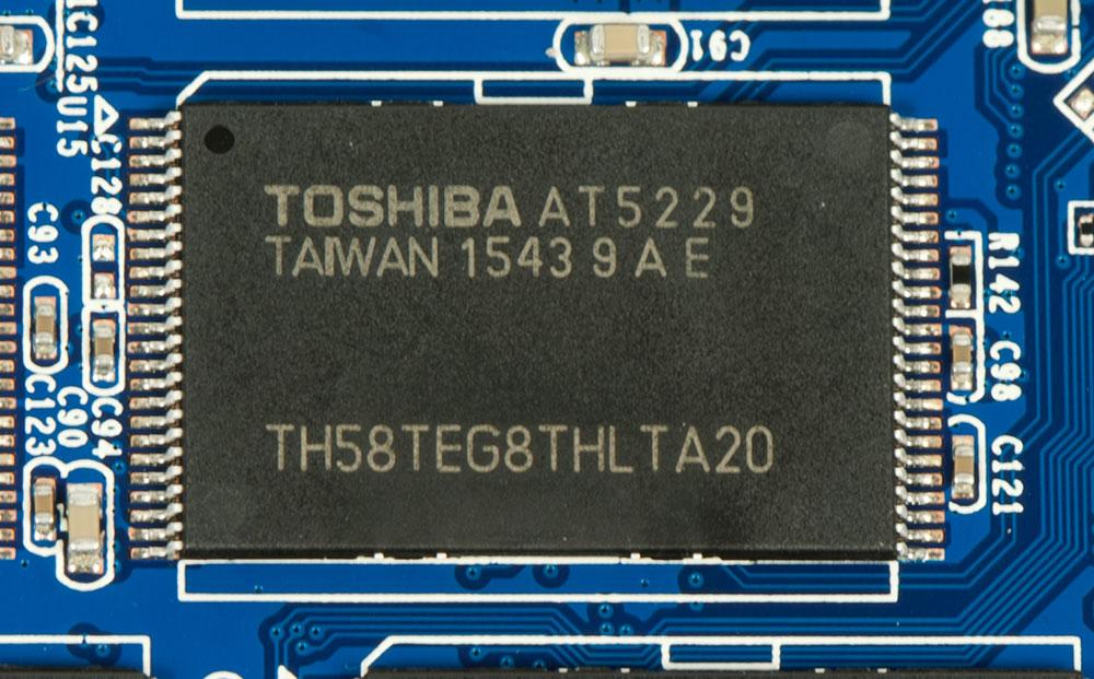 Честный обзор накопителя OCZ Trion 150 - 11