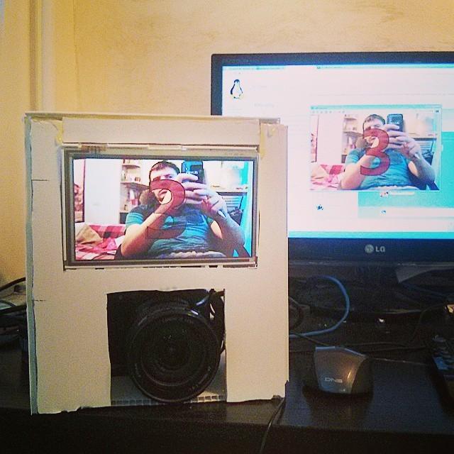 Делаем автономную фотобудку на raspberry pi - 5