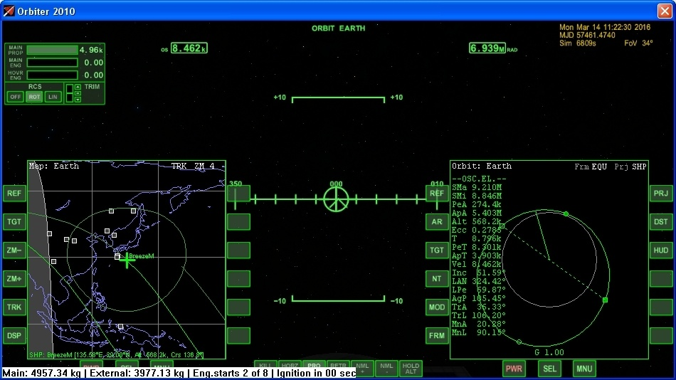 Орбитальный детектив или как улетал ЭкзоМарс - 15